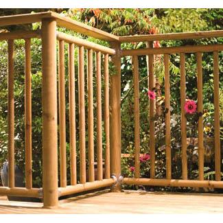 Outdoor Decking Balustrade – Contemporary